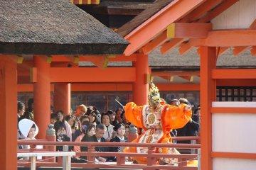 O Santuário Flutuante Itsukushima