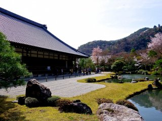 Tenryu-ji Temple and Hojo Garden (see Photo 5 in autumn article)