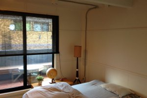 The king-size bed double room with balcony