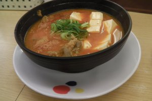 Korean kimchi jjigae