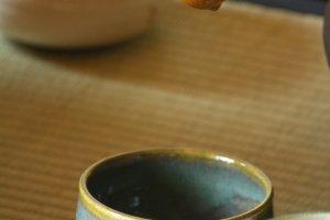 柄杓和茶碗