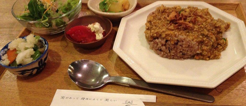 Sangmi, ร้านอาหารออร์แกนิกในโอซาก้า