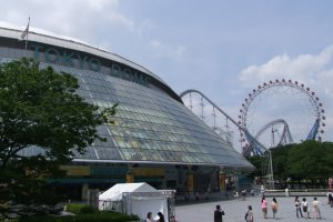 Tokyo Dome on a sunny, summer's day