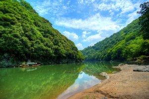 The river that runs through Arashiyama