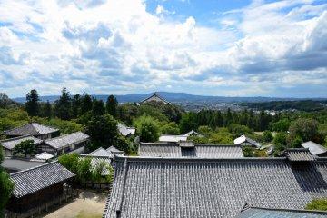 Le Bâtiment Nigatsu-dō du Tōdai-ji