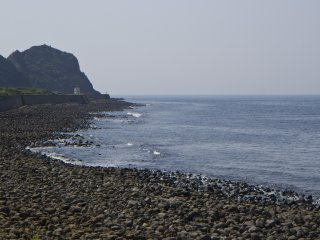 The view west toward Keya no Ohto