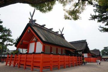 ศาลเจ้าญี่ปุ่นแท้ๆ Sumiyoshi Taisha