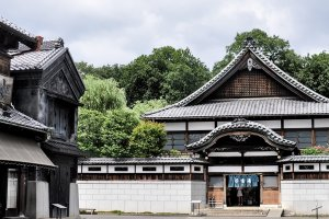 "Rumor has it, this bathhouse was a central inspiration to the feature ""Spirited Away"""