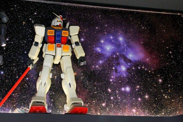 The Gundam Cafe in Akihabara