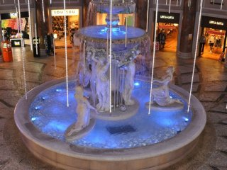 La fontaine de Venus Fort