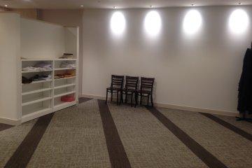غرفة صلاة في مطار كانساي بأوساكا