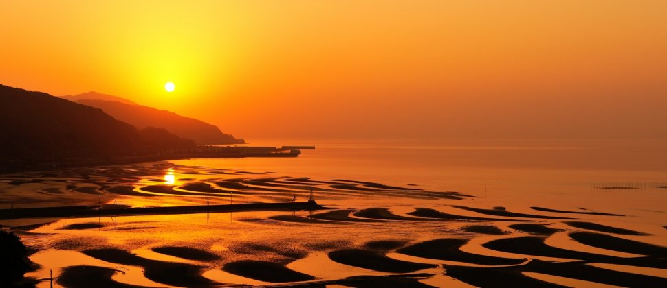 Coucher de soleil à Okoshiki