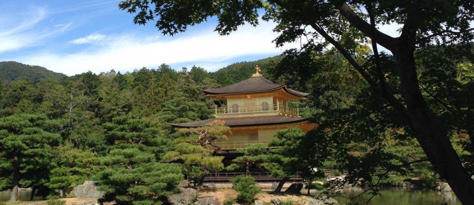 O Pavilhão Dourado de Quioto