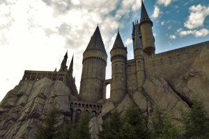 Just looking at Hogwarts was amazing to me