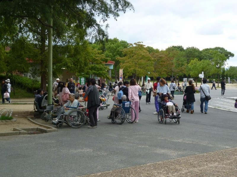 Tsurumi ryokuchi park osaka japan travel tourism guide japan map and trip planner for Tsurumi ryokuchi swimming pool