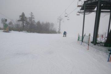 Early Season Skiing at Kagura