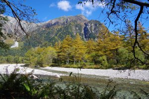 Azusa River in Kamikochi