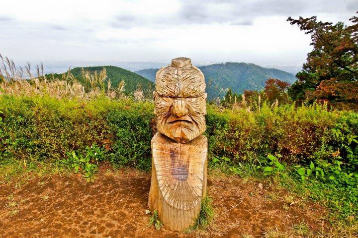 Hiking Mount Takao to Lake Sagami