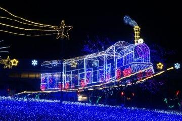 Holiday Illuminations at Hilltop