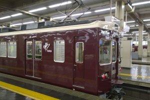 รถไฟของHankyu Railway