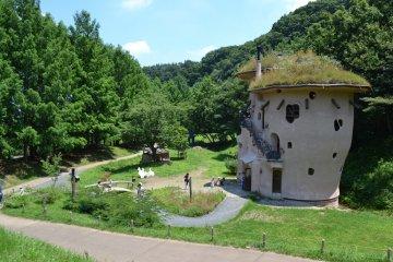 童話の世界に入り込める。あけぼの子どもの森公園