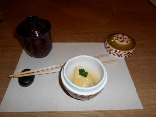 Kaiseki dishes