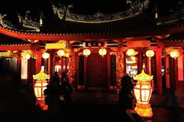 Le Temple de Confucius à Nagasaki