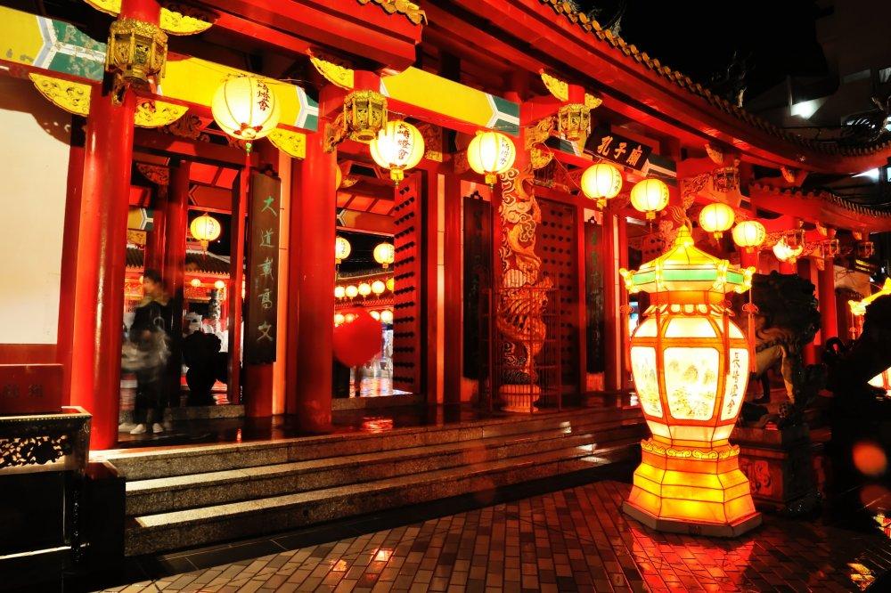C'était ma troisième visite du temple de Confucius à Nagasaki