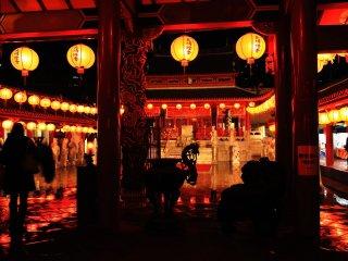 C'est probablement ce que je souhaitais trouver au festival des lanternes de Nagasaki