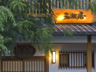 Unagi restaurants, many in old traditionally-styled buildings, abound in Yanagawa
