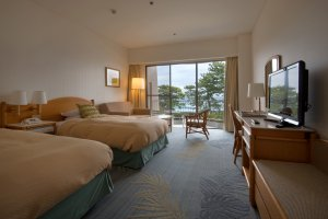 The rooms are spacious and clean, with great views and a large balcony to enjoy them from.