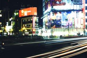 First spot near Shinjuku JR station