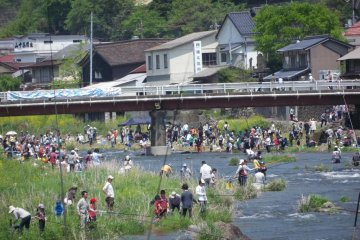 Niimi Fishing Contest every May 5th