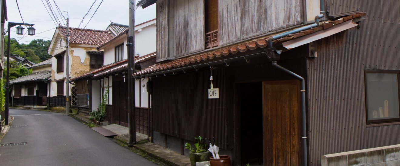 The simple front of Meguruya