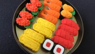Sushi Erasers in our Rewards Store