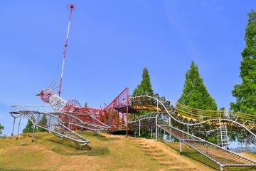 Центральный парк Геба в Фукуи