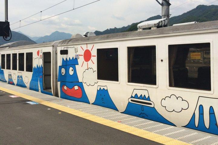 View Mt Fuji from Fujisan Express