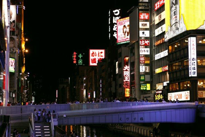 Shinsaibashi-suji and Dotonbori