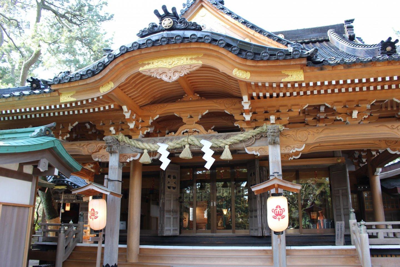 Atsuta Shrine in Kaga