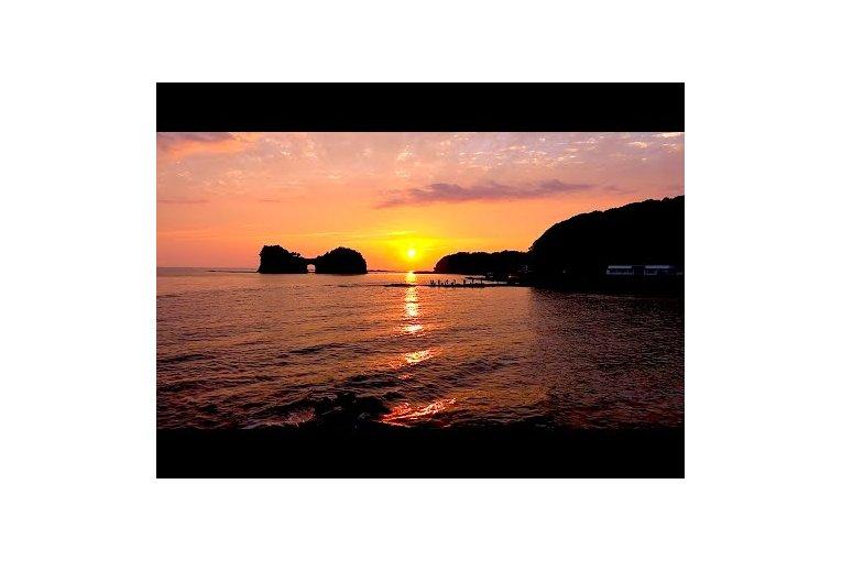 Закат на острове Энгецу