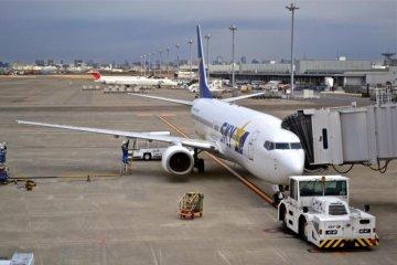 Flight to Okinawa