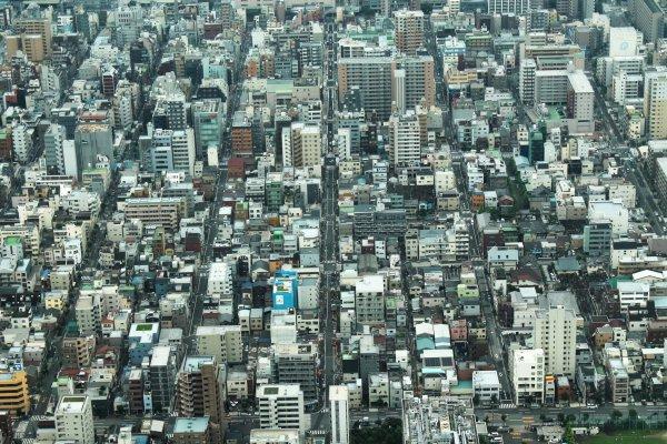 纹身图片 东京铁塔