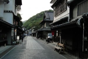 Takehara cobbled street