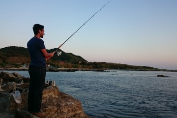 Fishing in Tateyama!