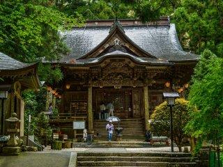 Pray to Kobo-daishi here