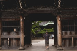 Entrance to the Shibamata Taishakuten Temple