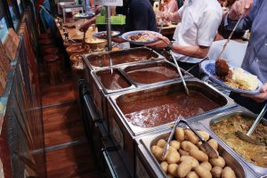 Lunchtime buffet