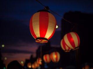 De magnifiques lanternes