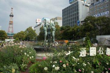 Taman Odori di Awal Musim Gugur