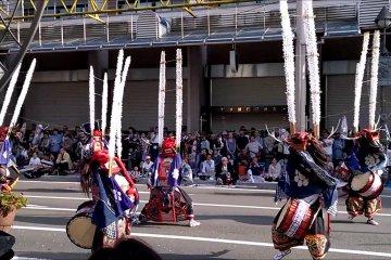 Hanamaki Deer Dancers